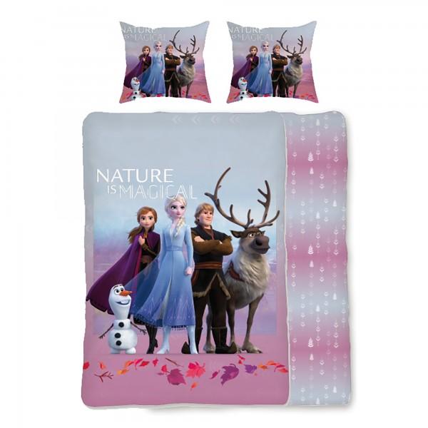 Frozen Die Eiskönigin Dreamteam Bettwäsche Linon / Renforcé