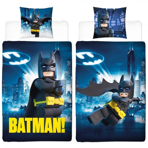 Lego Batman Gotham Bettwäsche Linon / Renforcé