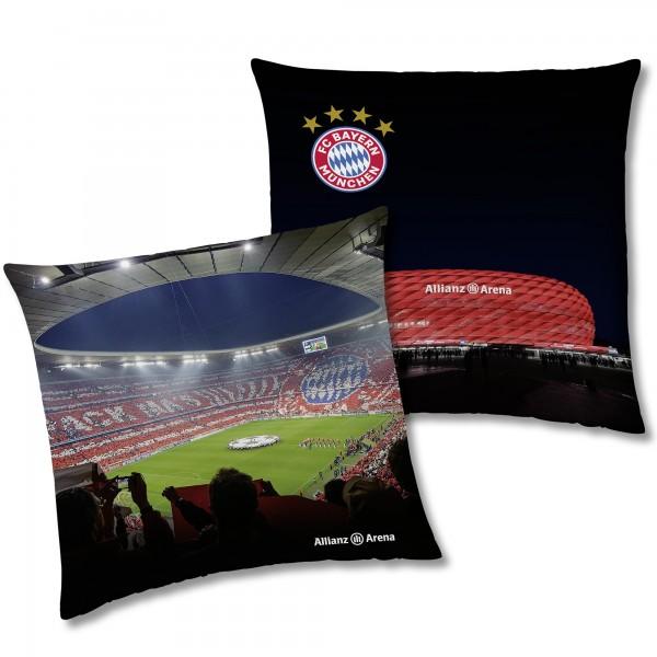 FC Bayern München Kissen Allianz Arena 40x40