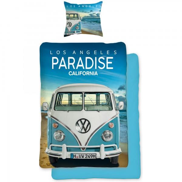 VW Volkswagen Paradise 075 Bettwäsche Linon / Renforcé