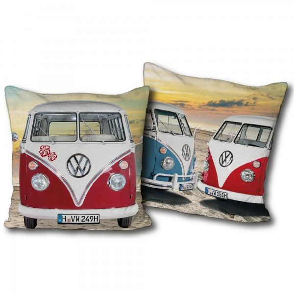 VW Volkswagen Bulli Kissen 085 40x40