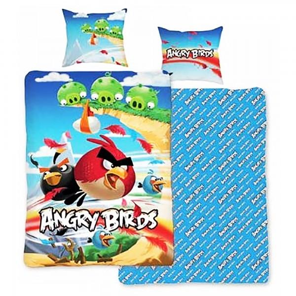 Angry Birds Cliffhanger Bettwäsche Linon / Renforcé