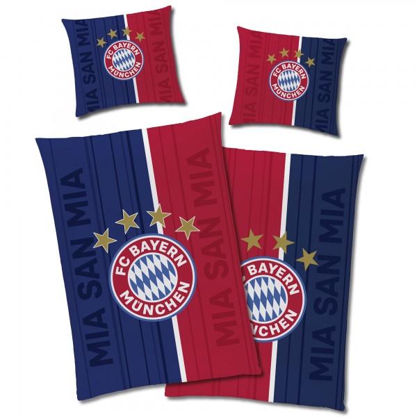 FC Bayern München Champions Glow in The Dark Bettwäsche Linon / Renforcé
