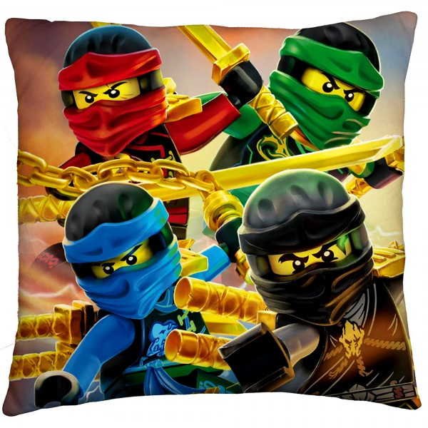 Lego Ninjago Red Eyes Kissen 40x40