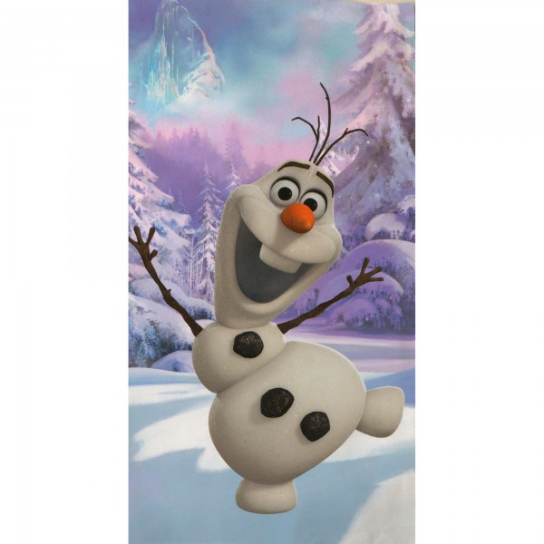 Disney Frozen 2 Die Eiskönigin Strandtuch Olaf 75x150