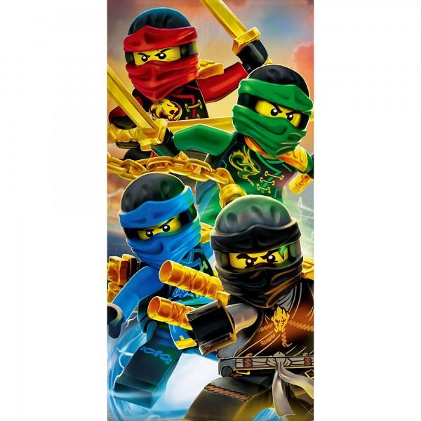 Lego Ninjago Badetuch Team 70x140