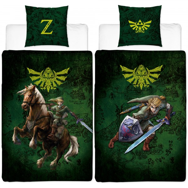 The Legend of Zelda Fight Bettwäsche Linon / Renforcé