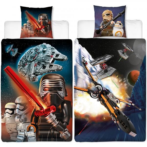 Lego Star Wars Millennium Bettwäsche Biber Flanell