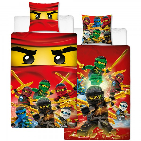Lego Ninjago Fire Bettwäsche Renforcé / Linon