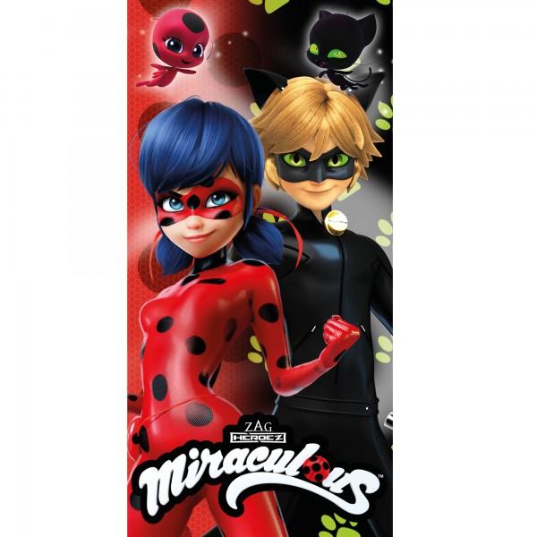 Miraculous Ladybug Duo Badetuch