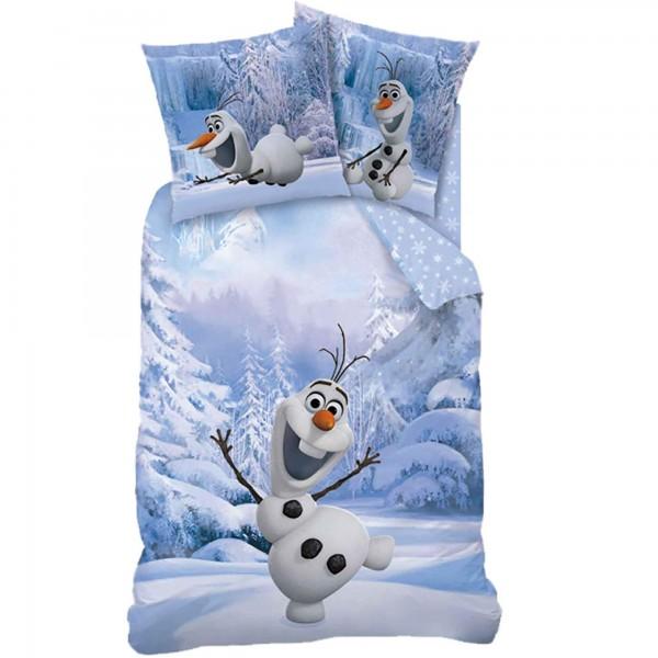 Frozen Die Eiskönigin Snowman Olaf Bettwäsche 100% Baumwolle