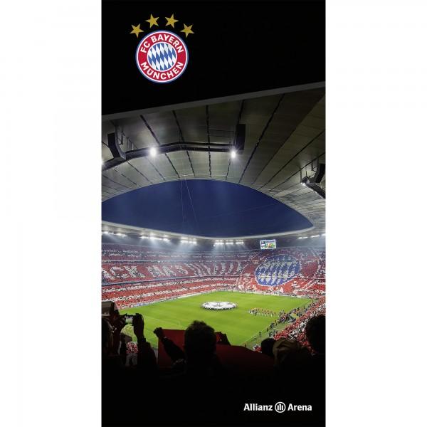 FC Bayern München Allianz Arena Badetuch 75x150