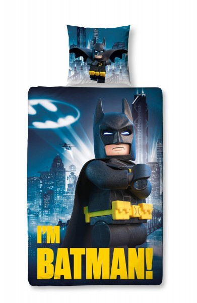 Lego Batman Gotham City Bettwäsche Renforcé / Linon