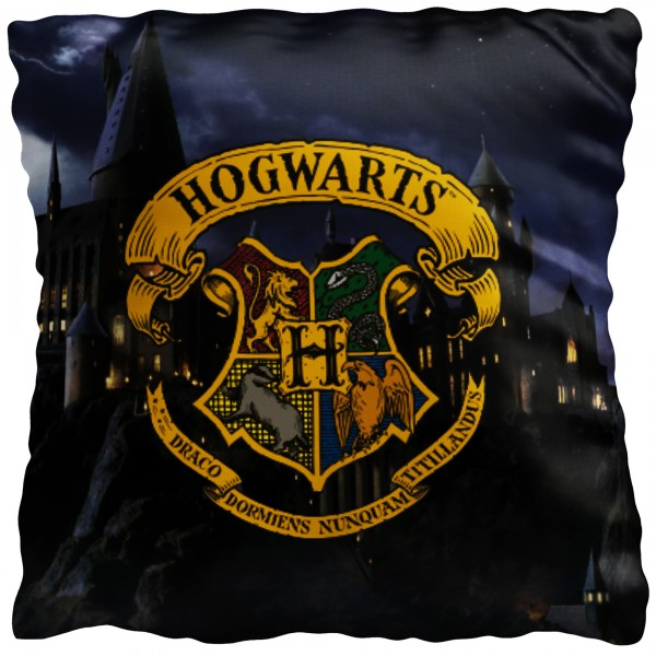 Harry Potter Kissen Hogwarts 40x40