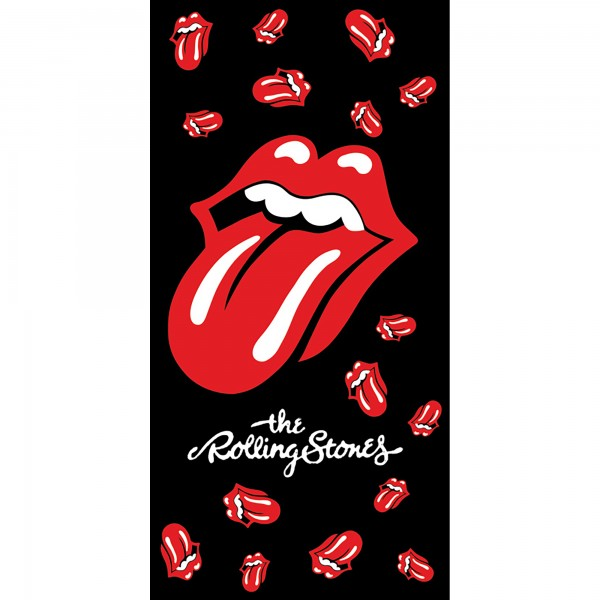 The Rolling Stones Hard-Rock-Badetuch 70x140