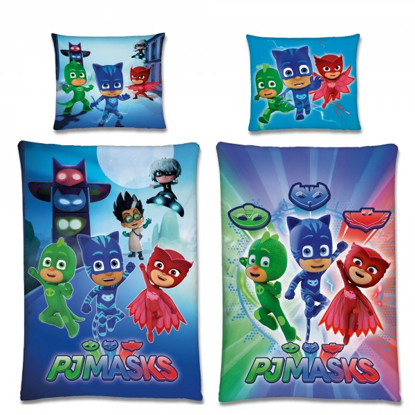 PJ Masks Night Bettwäsche Biber / Flanell