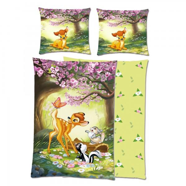 Disney Bambi Bettwäsche Flanell