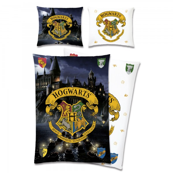 Harry Potter Hogwarts Bettwäsche Linon / Renforcé