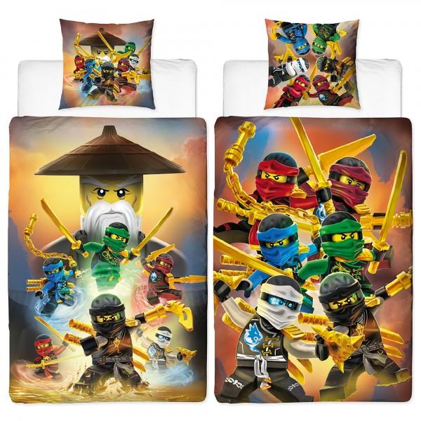 Lego Ninjago Crew Bettwäsche Linon / Renforcé