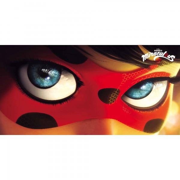 Miraculous Ladybug Eyes Badetuch