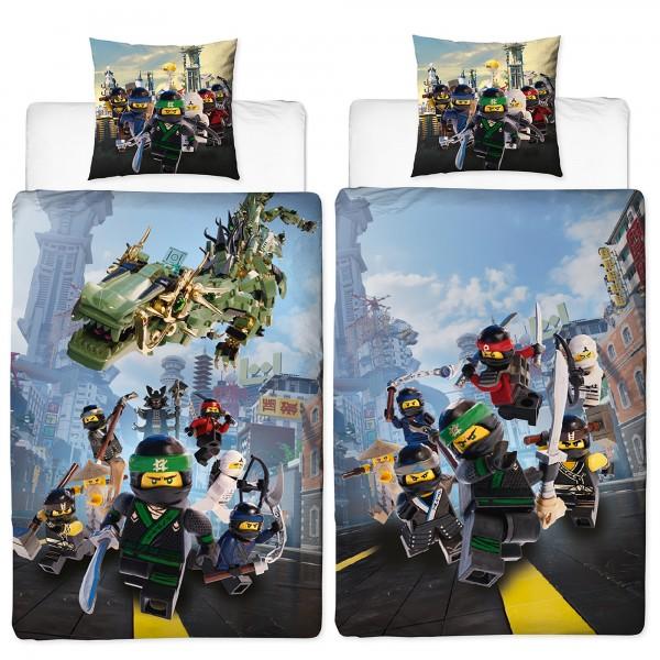 Lego Ninjago Street Bettwäsche Linon / Renforcé