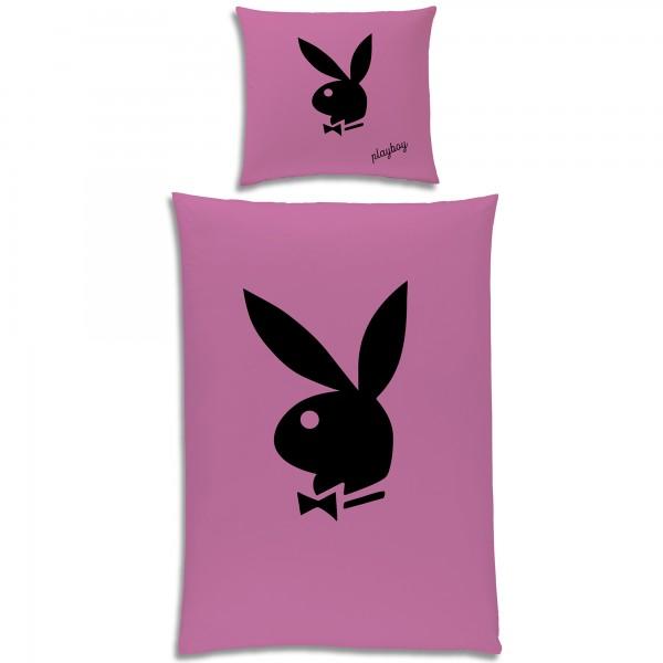 Playboy Bunny Bettwäsche Linon / Renforcé